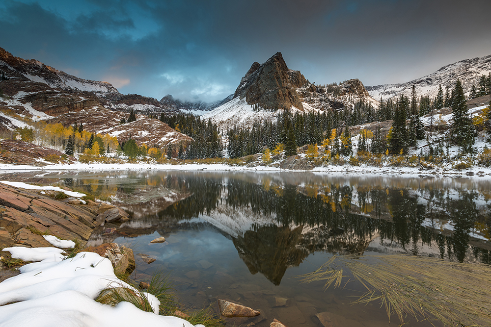 Giclée Printing - mountain/lake landscape