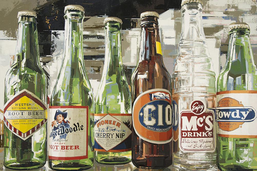 giclee printing - bottles